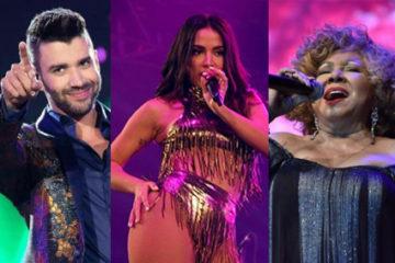 Lives do fim de semana tem de Anitta, a Gusttavo Lima e Alcione; confira