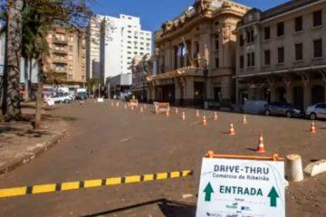 RIBEIRÃO PRETO RETOMA AS ATIVIDADES DO DRIVE-THRU COMPARTILHADO NO CENTRO