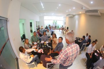 Almoço reúne empresários na Acirp para atrair novos associados