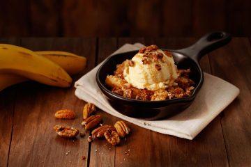 Banana Cobbler do Outback Steakhouse